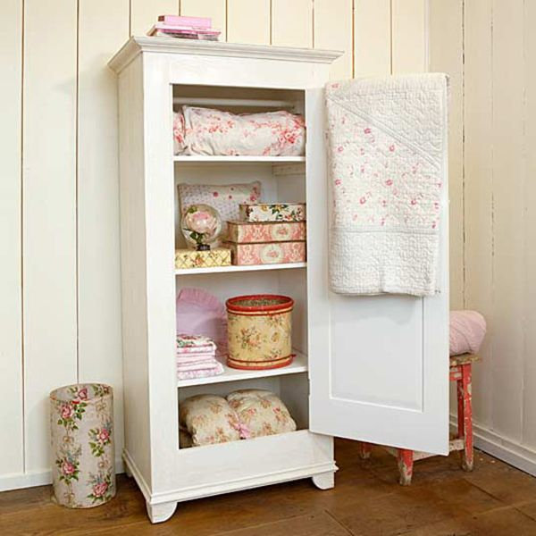 Exceptionnel Shabby Vintage Linen Cabinet Country Cottage Furniture Favourites