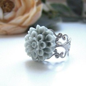 Bluegrey Stella Ring, $8