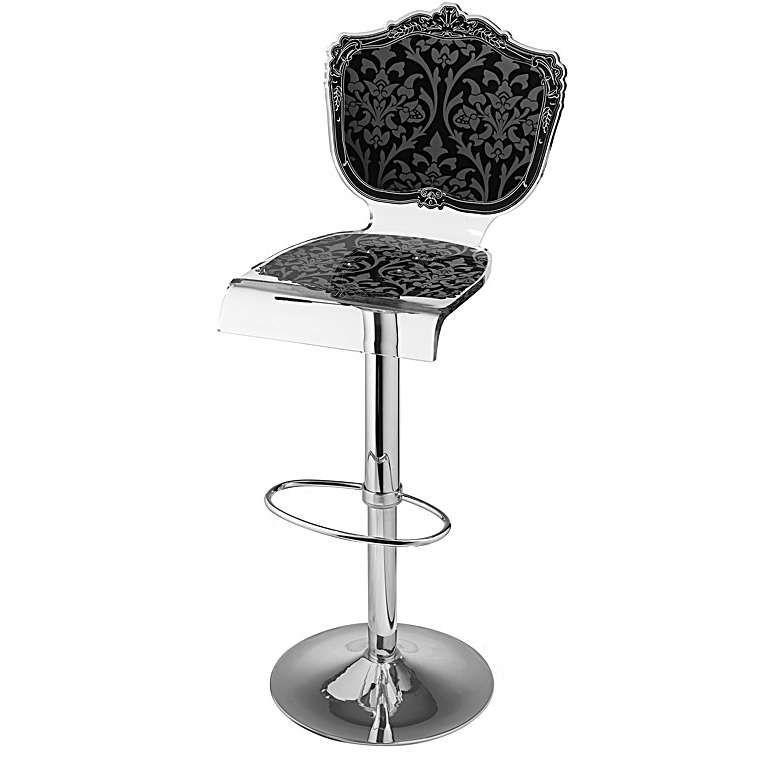 the black bar stool by acrila