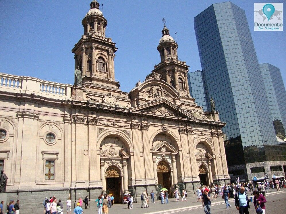 Igrejade Santo Domingo - Santiago,Chile