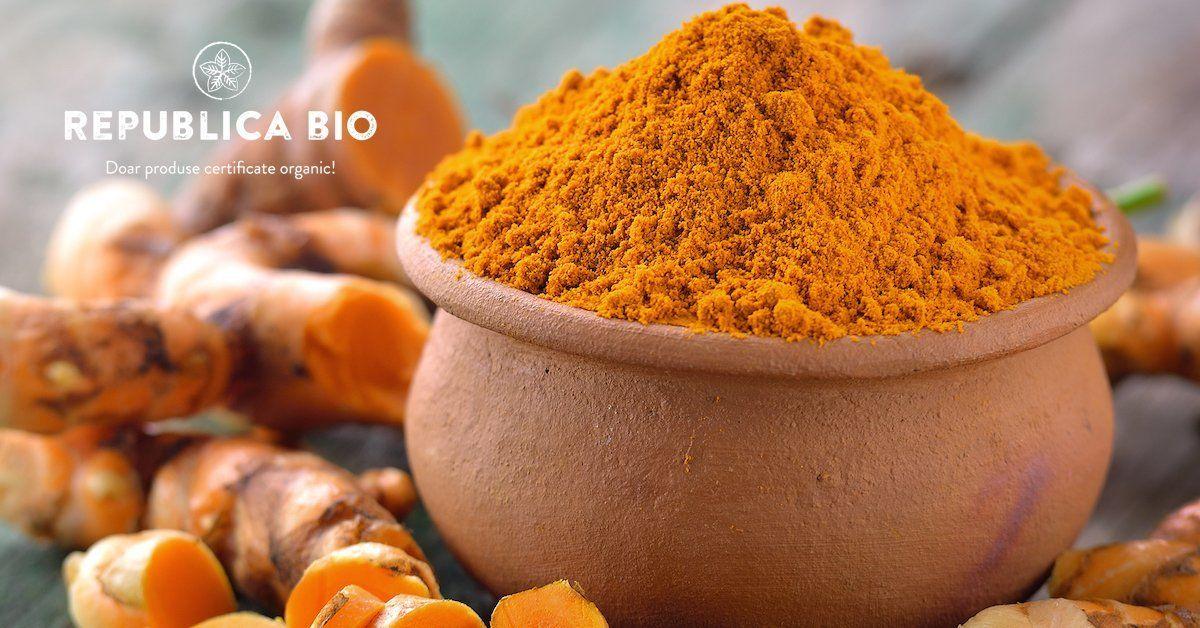 Turmericul, condimentul cu numeroase beneficii pentru organism - proprietati si folosire