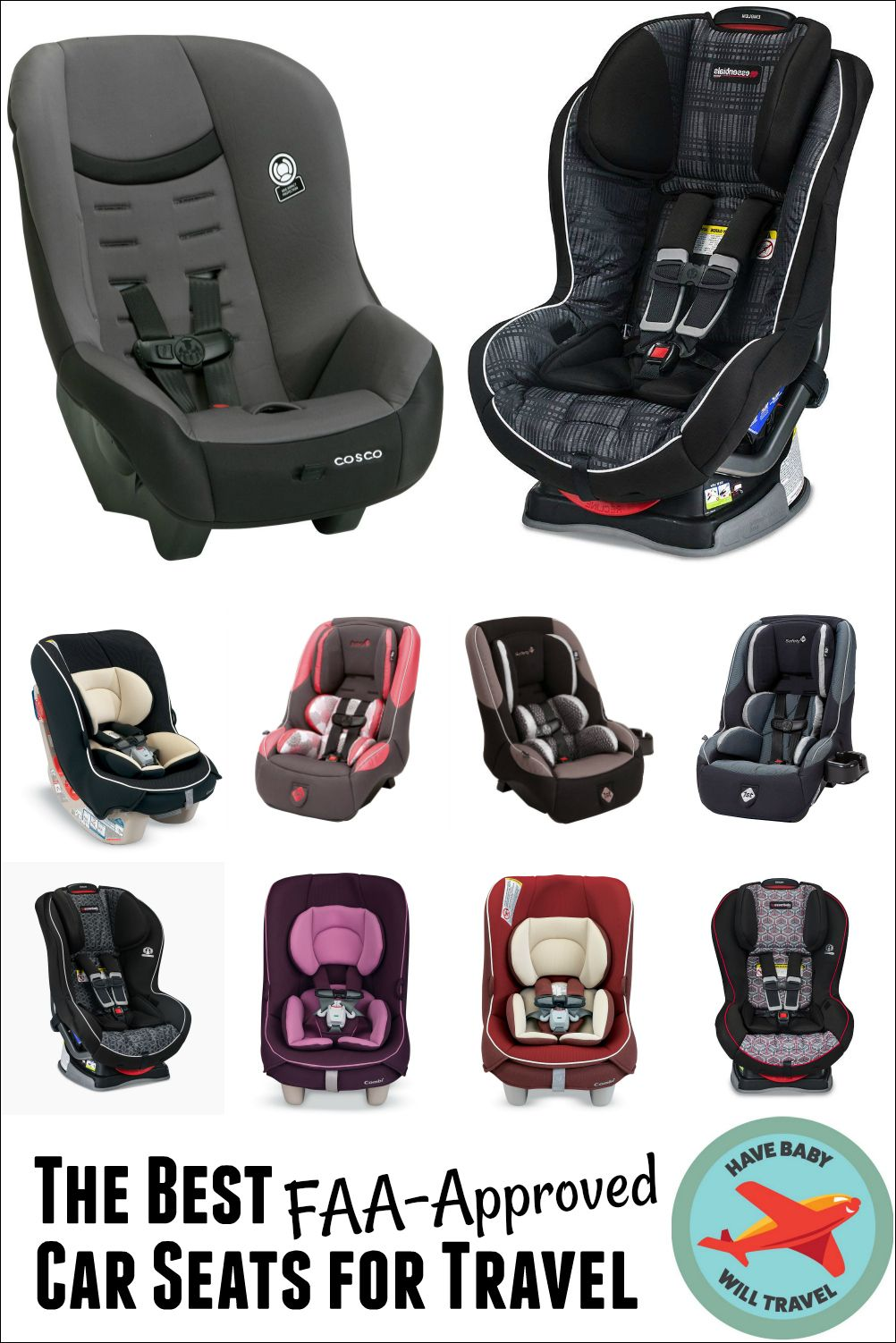 Best FAAApproved Car Seats for Travel Baby travel gear