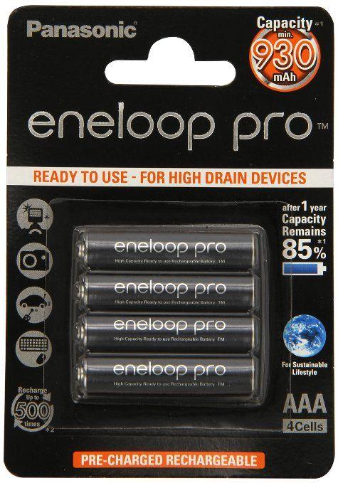 Panasonic Eneloop pro AA Ready-to-Use Mignon NI-MH Akku: Amazon.de: Elektronik