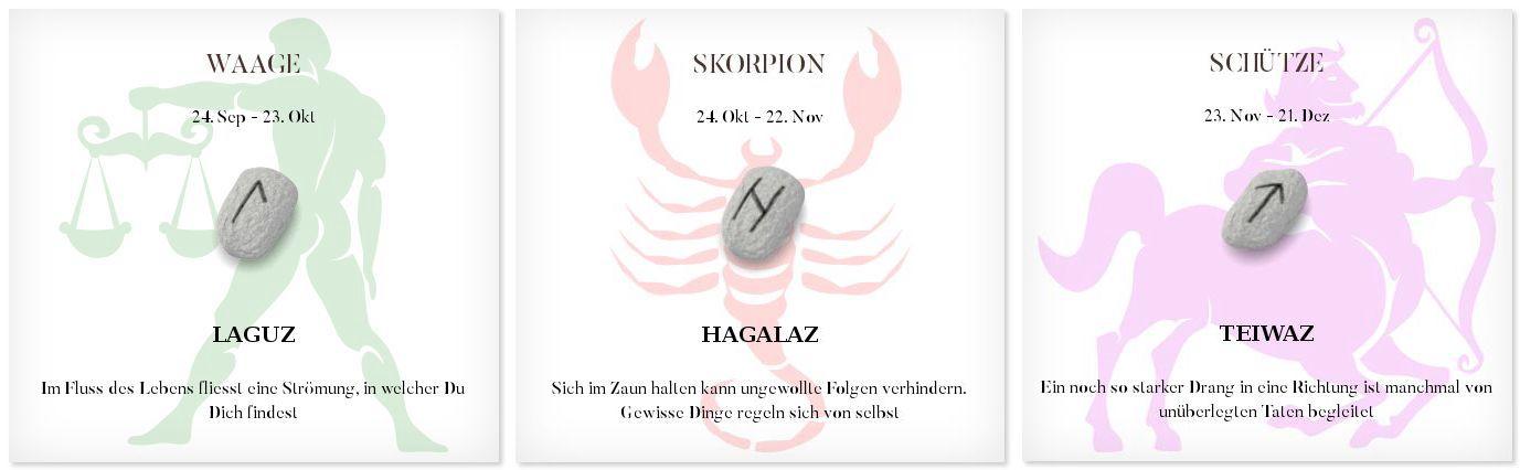 Runen Tageshoroskop 17.12.2016 #Sternzeichen #Runen #Horoskope #waage #skorpion #schütze