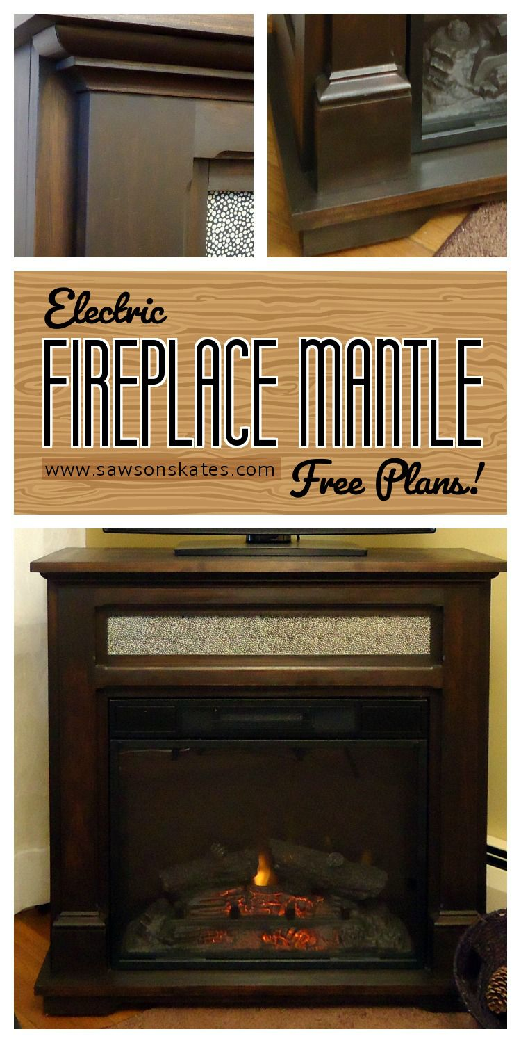 DIY Electric Fireplace TV Stand Electric fireplace tv