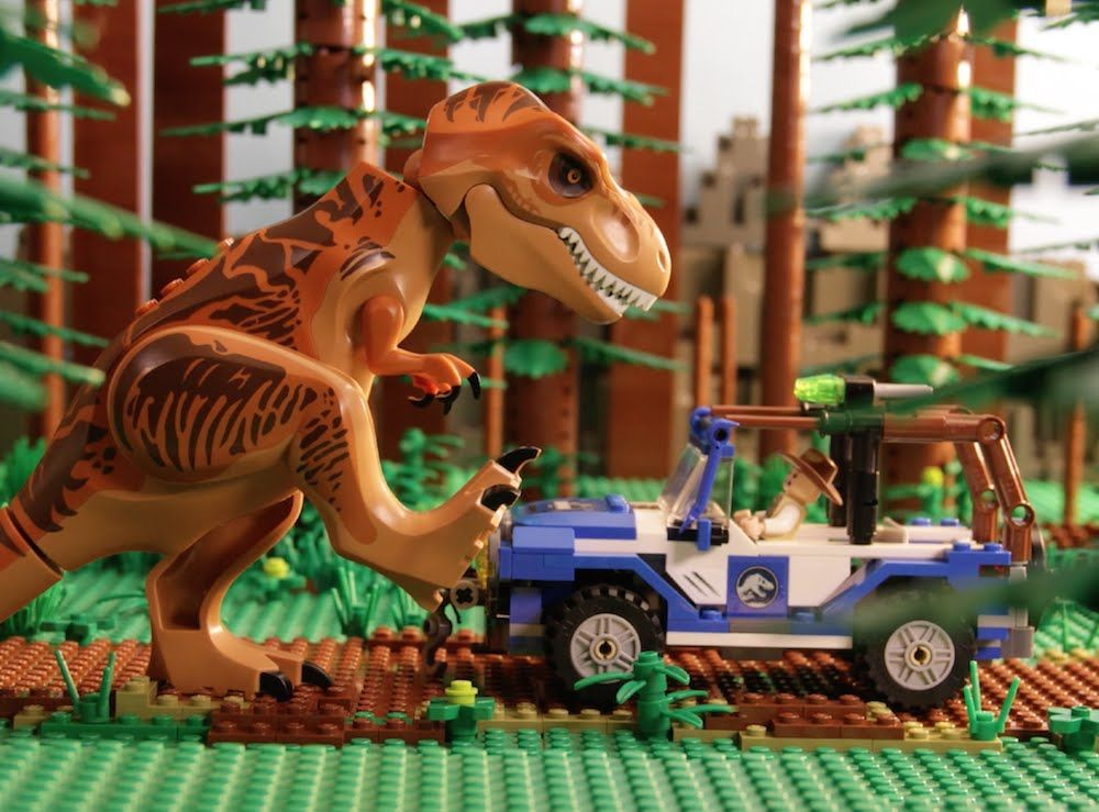 The 25 best lego jurassic park ideas on pinterest lego - Jurasic park lego ...