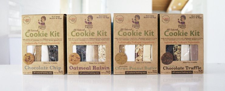 Love These Kits!  Affordable family craft with healthier delicious cookies...and they make a tray full of cookies, instead of 300.  Love this product!  Gluten Free ones too.