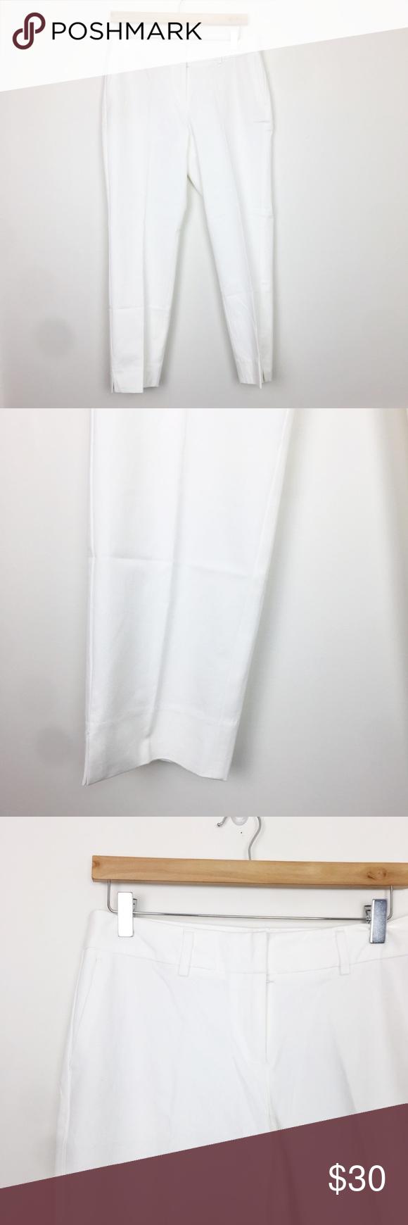 Halogen | Nordstrom White Slacks Size 10 ▪️condition: BNWT, never worn  ▪️waist: 17 inches  ▪️length: 35 inches  ▪️rise: 10 inches Halogen Pants Trousers #whiteslacks Halogen | Nordstrom White Slacks Size 10 ▪️condition: BNWT, never worn  ▪️waist: 17 inches  ▪️length: 35 inches  ▪️rise: 10 inches Halogen Pants Trousers #whiteslacks