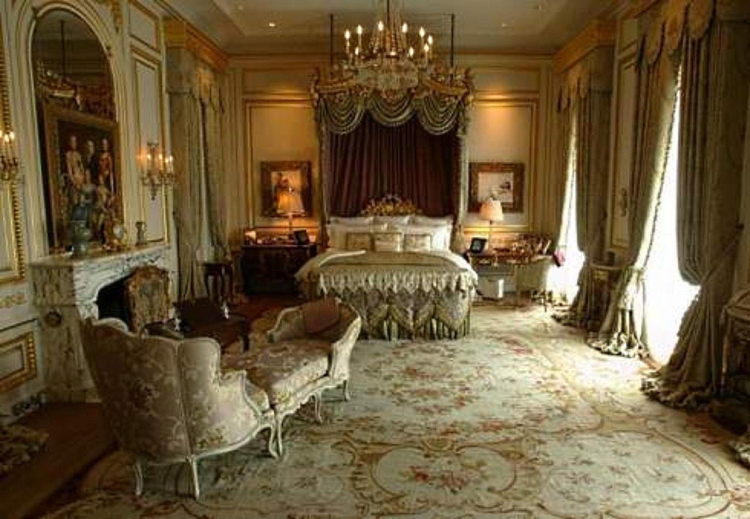 Bedroom fleur de lys mansion los angeles california