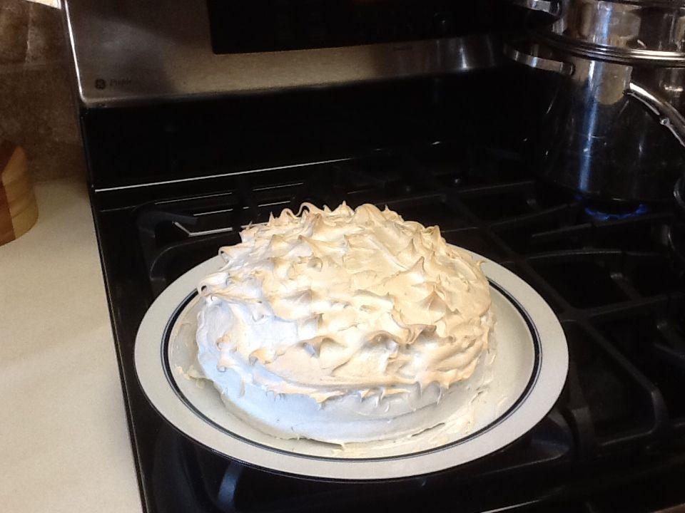 My Lemon Meringue Cake!
