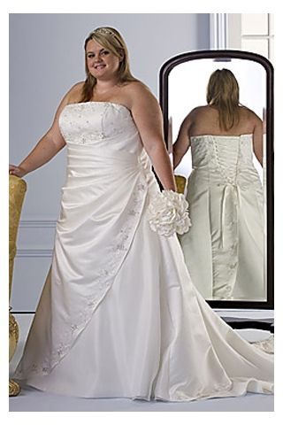 piniful.com cheap plus size wedding dresses (28) #plussizefashion ...