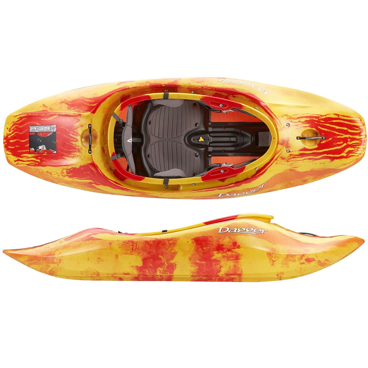 Whitewater Kayaks For Sale >> Dagger Agent 6 2 Whitewater Kayak 6 2 Kayaking Whitewater