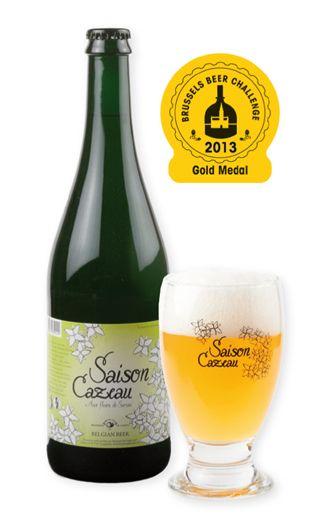 Saison Cazeau - heeft een licht bloemig aroma en een frisse smaak met een bijzondere droge maar verfrissende afdronk
