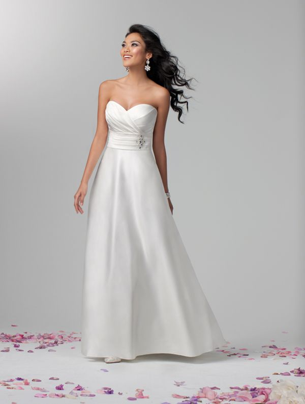 alfred angelo | style no. 2381 | in-store sample | say yes to alfred ...