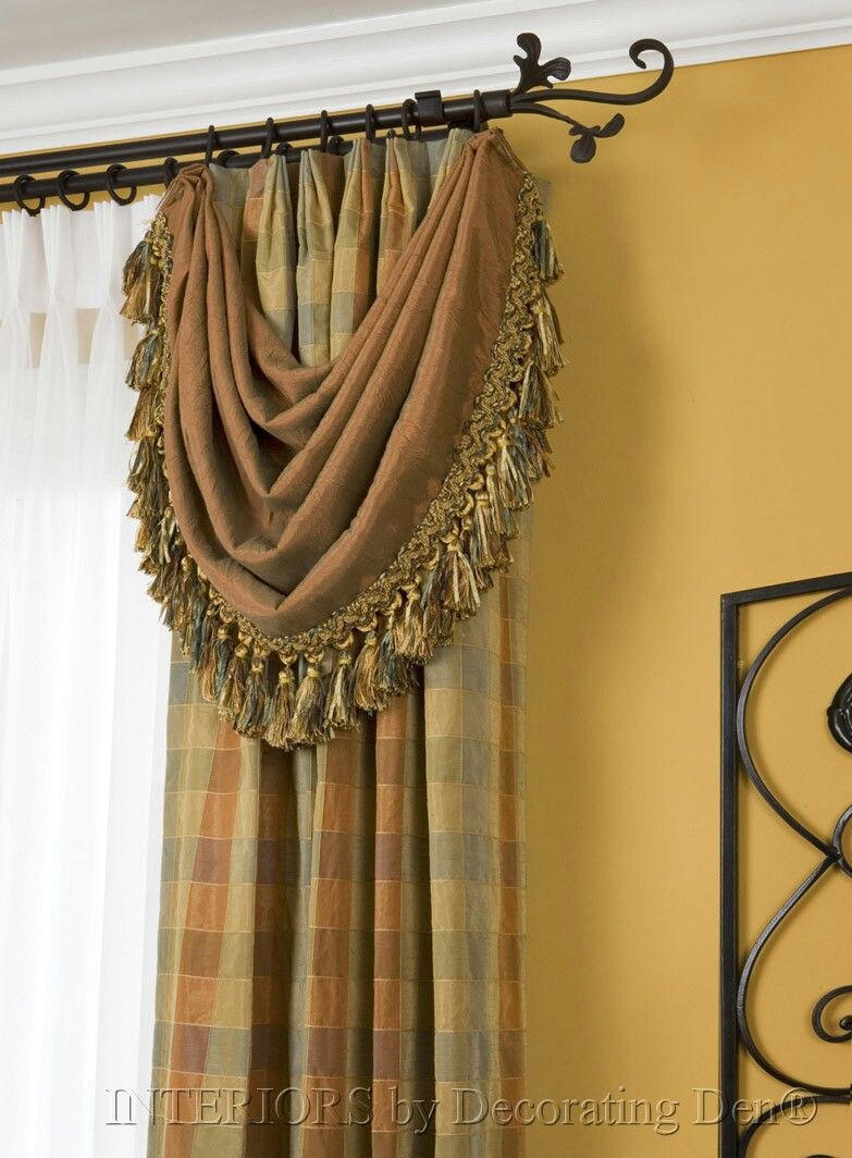 Scarf Window Treatments Home Decor