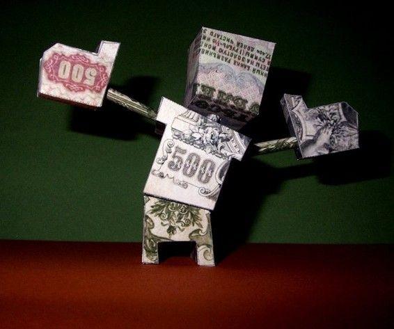 BBP richer than merrci  - paper toy - papertoy
