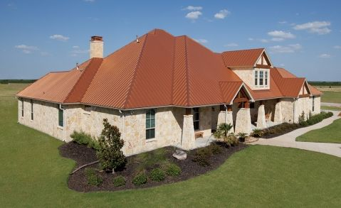 Metal Roofing Gallery Category Cf Bright Copper 23 Image Cf Bright Copper 23 1 Copper Metal Roof Metal Roof Roofing
