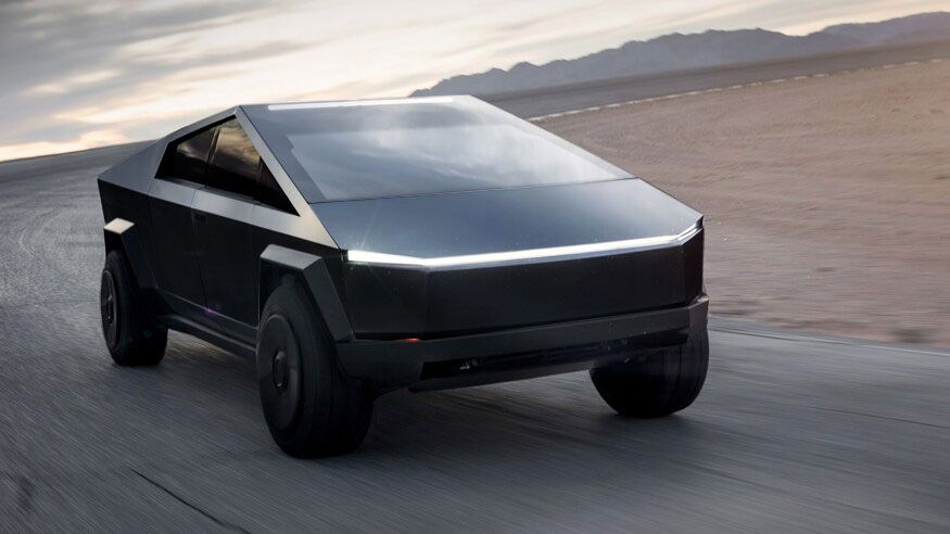 Tesla Cyber Truck Matte Black Google Sogning New Tesla Tesla Electric Cars