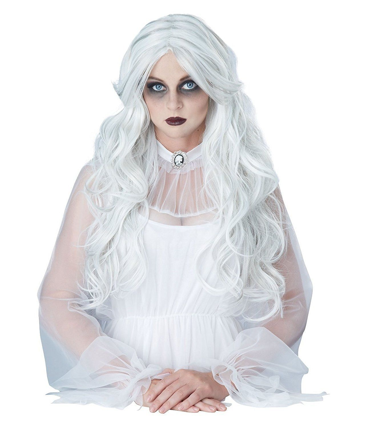 Adult Supernatural Gray Wig, One size