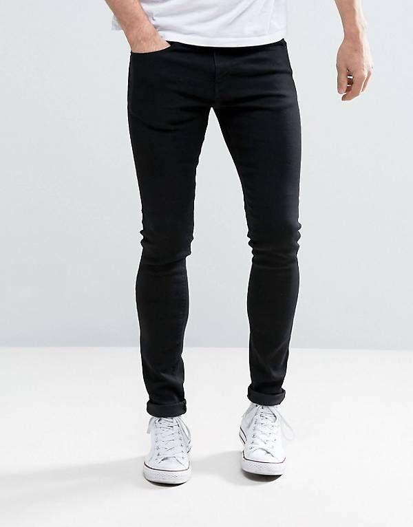 5ea53051 Pull&Bear Super Skinny Jeans In Black | H1 in 2019 | Super skinny ...
