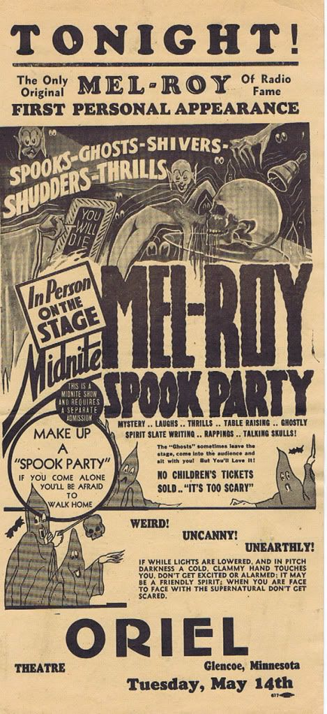 Spook Party in Minnesota