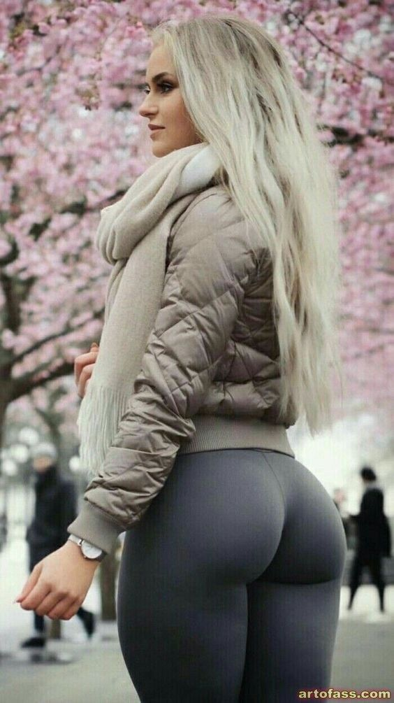 Hot blonde girls yoga pants ass apologise, but