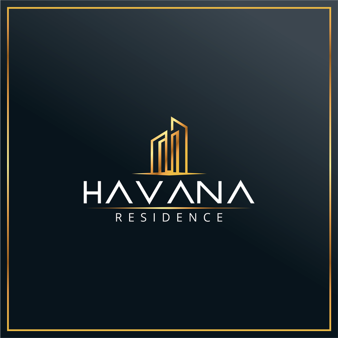 Logo design for luxury city centre apartment building by for Apartment logo ideas