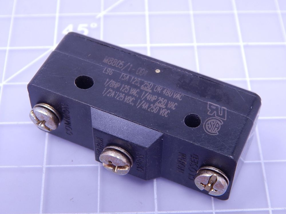 Micro Switch Bz 2rt04 Bz Series Basic Snap Action Switch Large