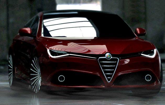 alfa romeo giulia 169 primo rendering 1 i love cars pinterest bilar och inspiration. Black Bedroom Furniture Sets. Home Design Ideas