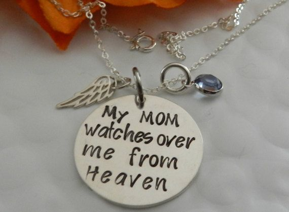 Personalized Memorial Jewelry My Mom Watches by StayCloseJewelry