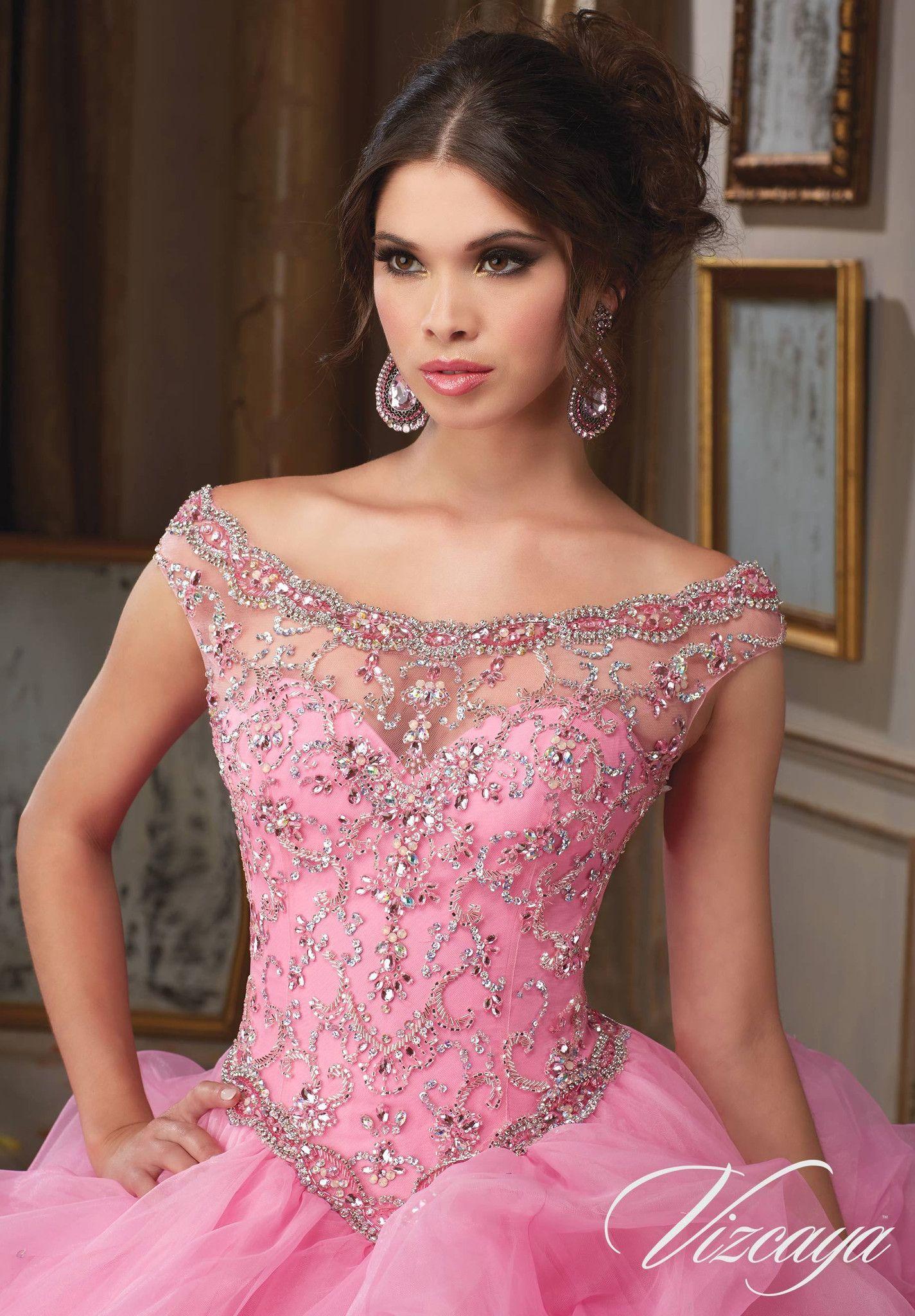 Mori Lee Quinceanera Dress 89110 | Pinterest | Vestidos de baile ...