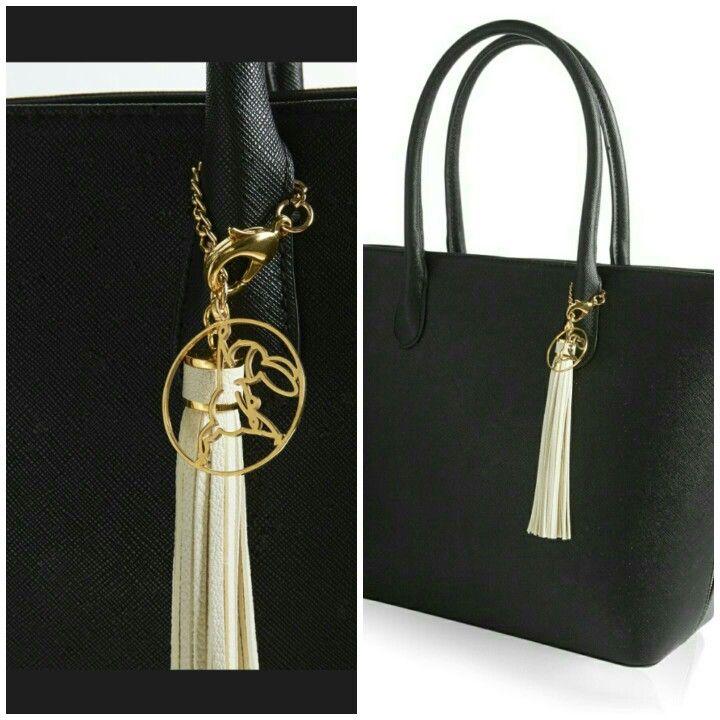 Bag tassel from rebeccajoseph.com