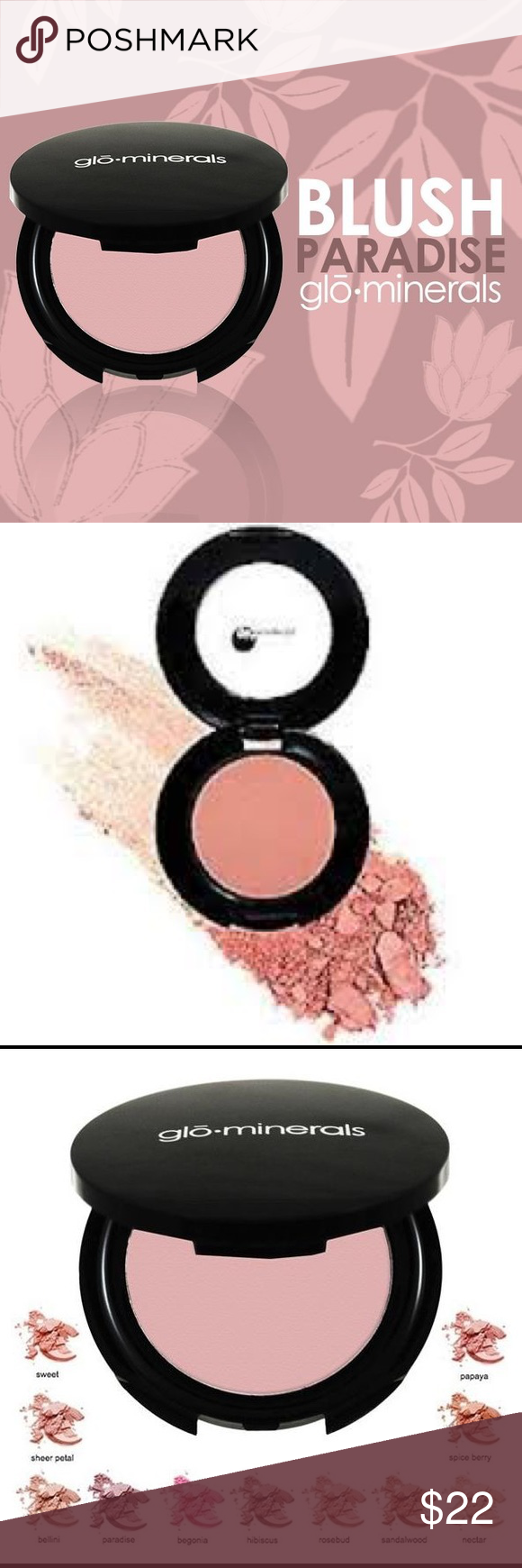 GLOminerals blush PARADISE NWT Blush makeup, Beauty