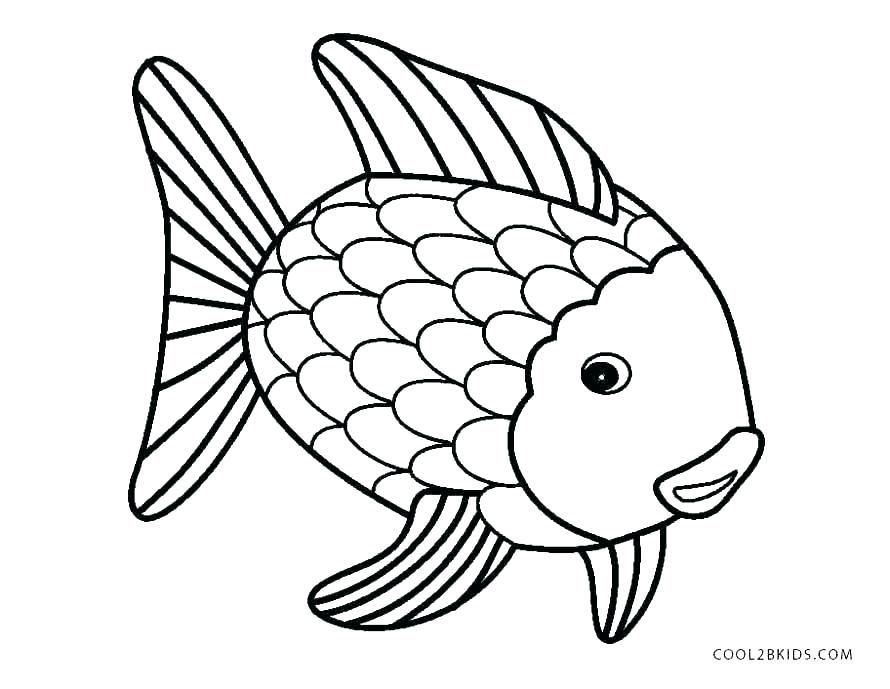 preschool rainbow fish coloring sheet to print for free.html
