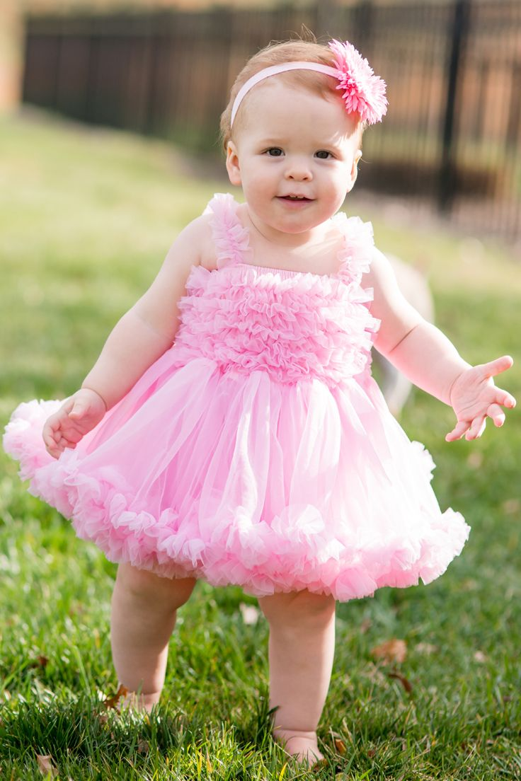 ea78a42dd LOVE this pink princess petti dress from @RuffleButts. Perfect for dressing  up or a day of play!