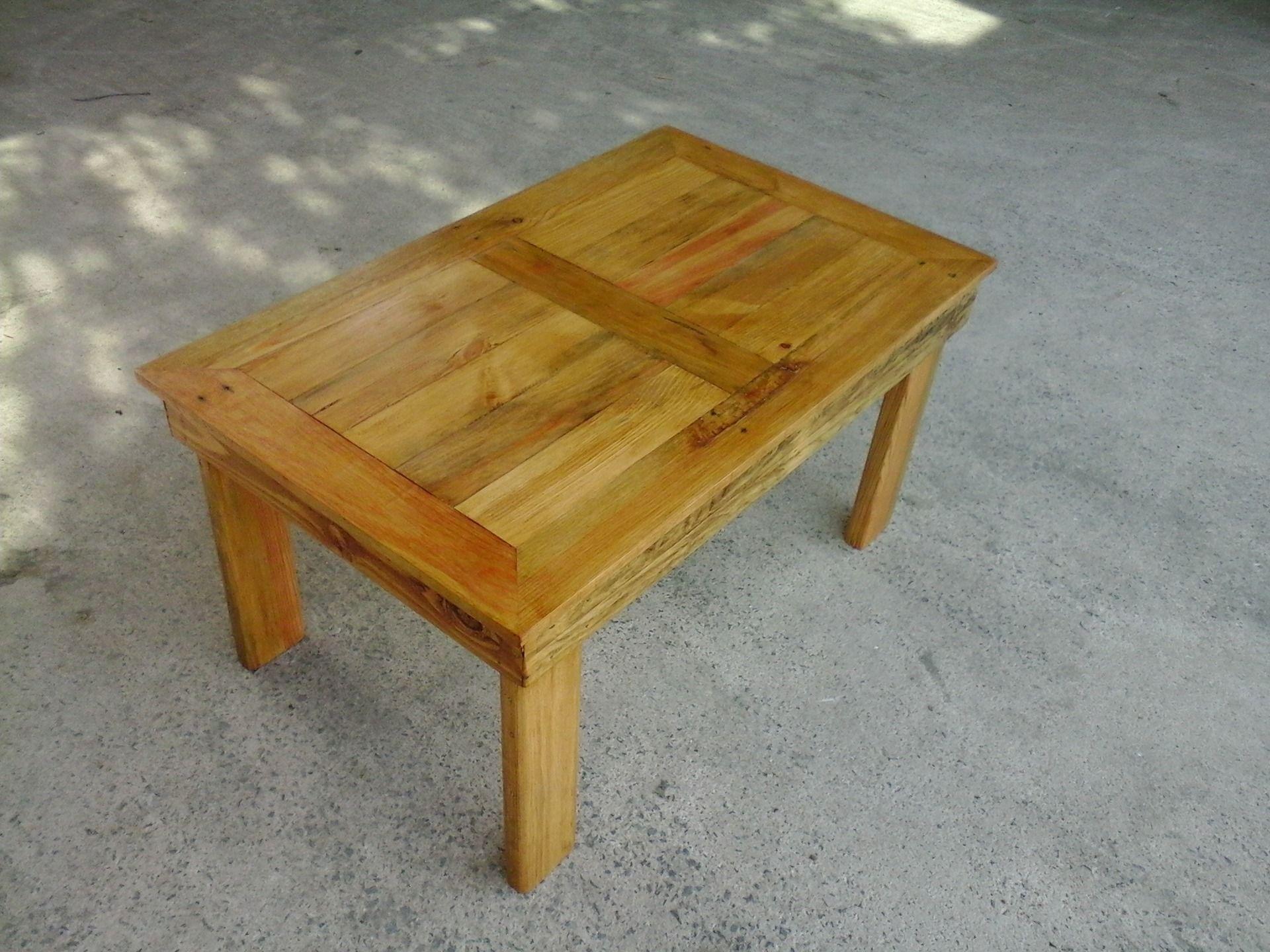 Beau Table En Bois De Palette #7: Table Basse En Bois De Palette Fait Main : Meubles Et Rangements Par  Augustin-fait