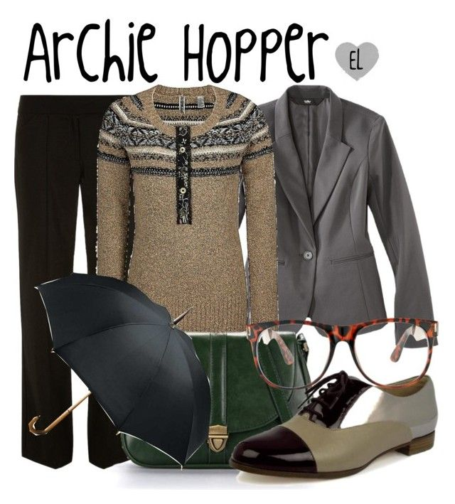 """""""Archie Hopper -- Once Upon a Time"""" by evil-laugh ❤ liked on Polyvore featuring Mossimo, Dorothy Perkins, BKE, Ethel, Totes, CHARLES & KEITH, Jeepers Peepers, onceuponatime, ouat and jiminycricket"""