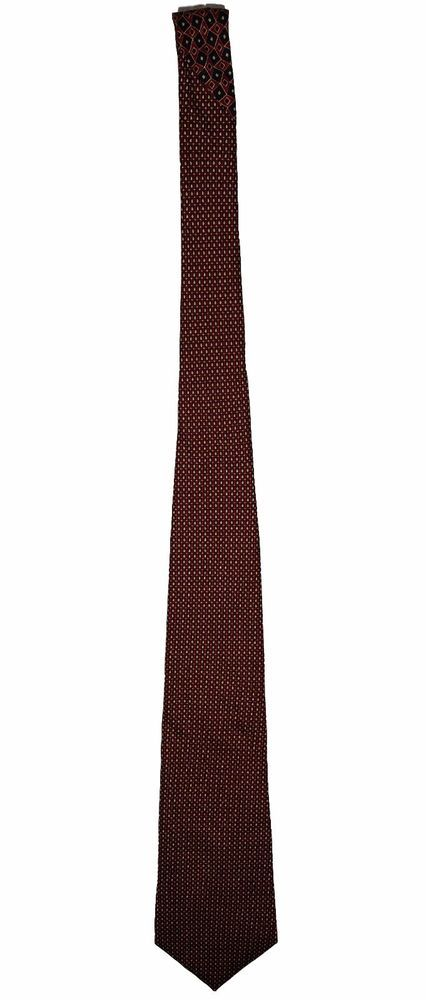 Tommy Hilfiger 100% Italian Silk Mens Maroon Dress Necktie Neck Tie 58in #TommyHilfiger #Tie