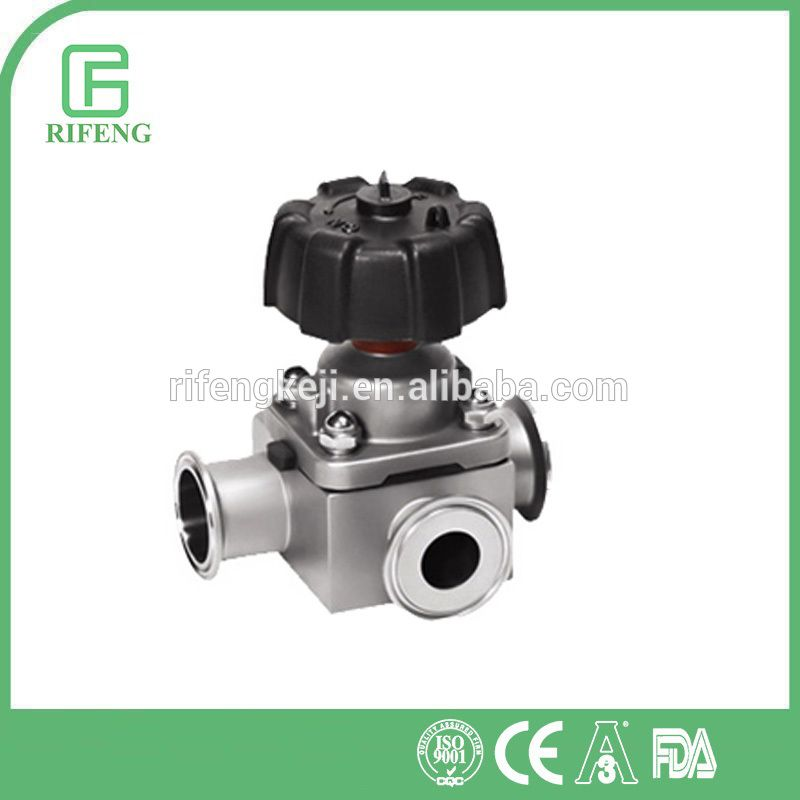 ce certificate quality stainless steel sanitary valve for food industry