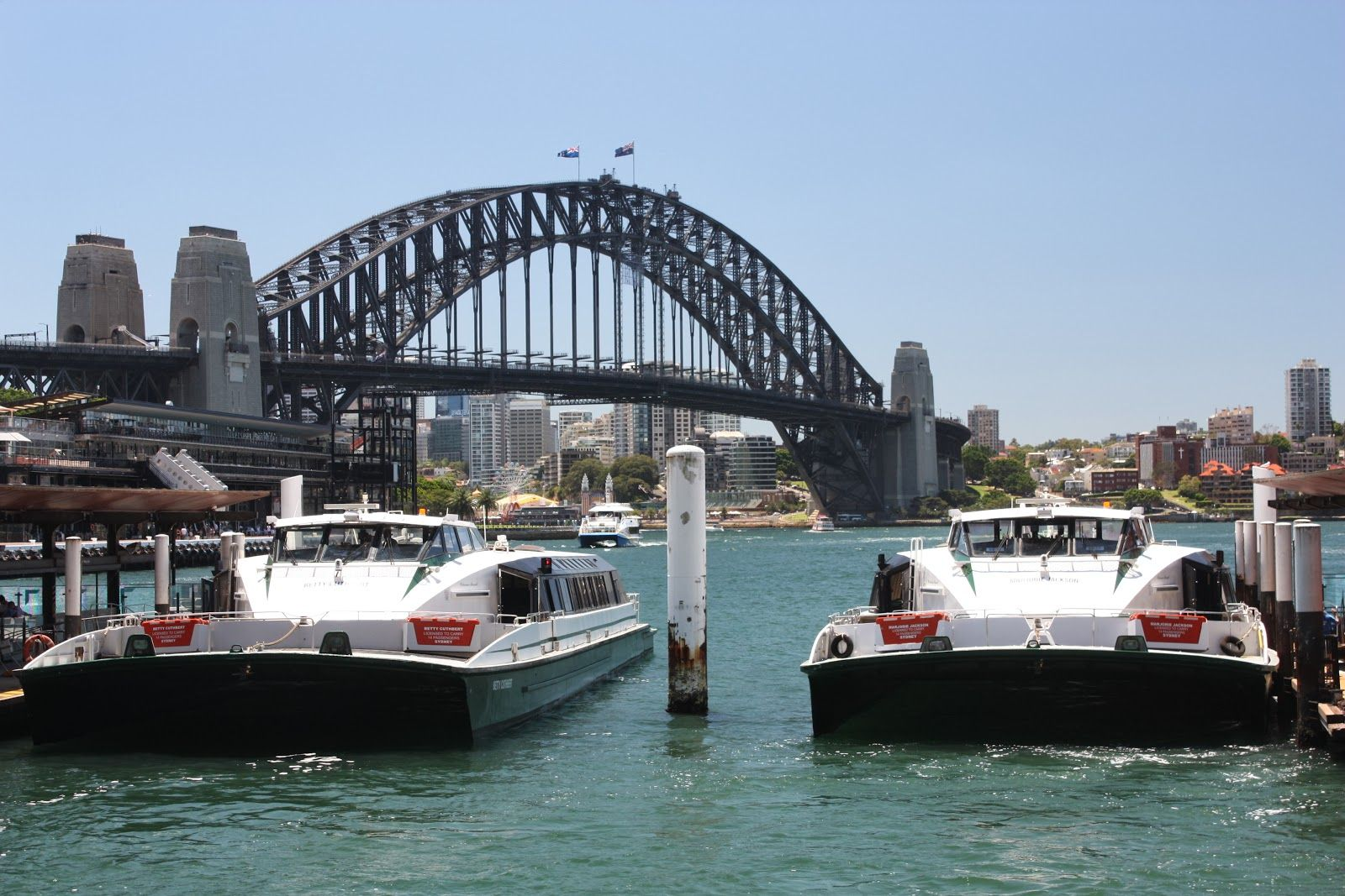 Sydney -  Circular Quay, Rivercat class ferries