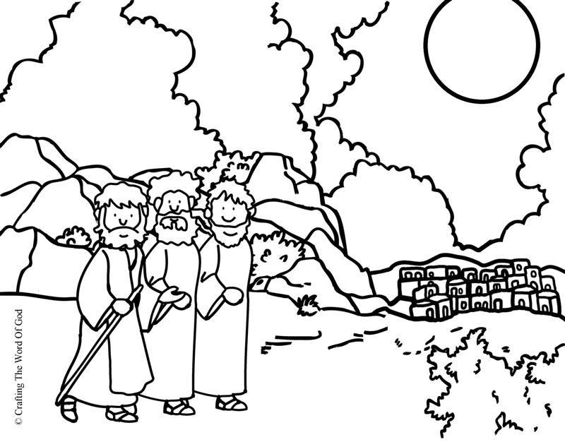 El Camino A Emaus Pagina De Colorear Manualidades Escolares