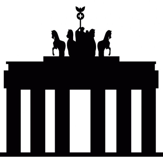 Pin By Simplexady On Icons Germany Map City Icon Brandenburg Gate