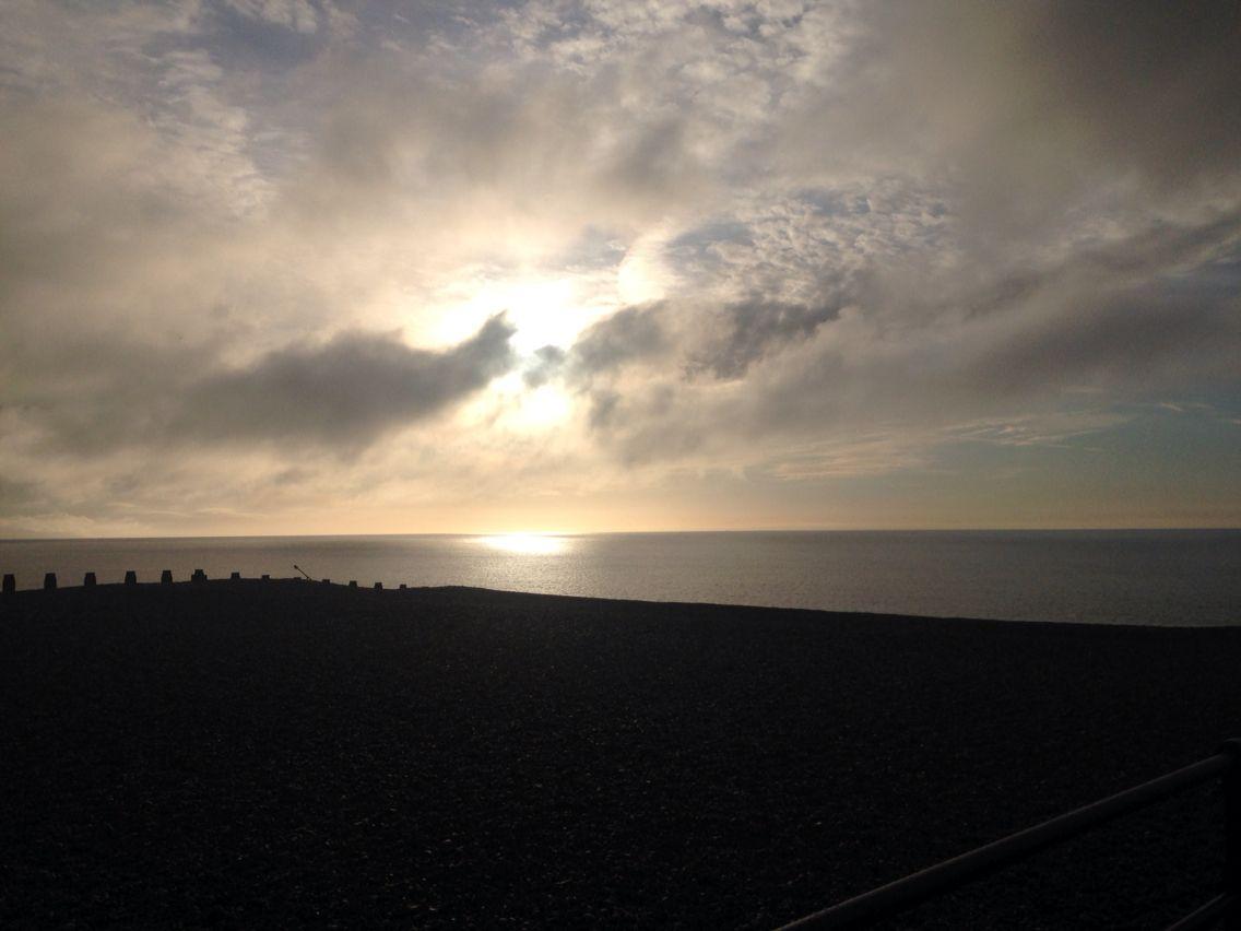 Sunrise towards hastings