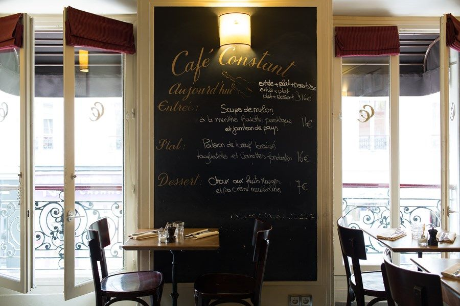 Where To Eat In Paris Cafe Constant 139 Rue Saint Dominique