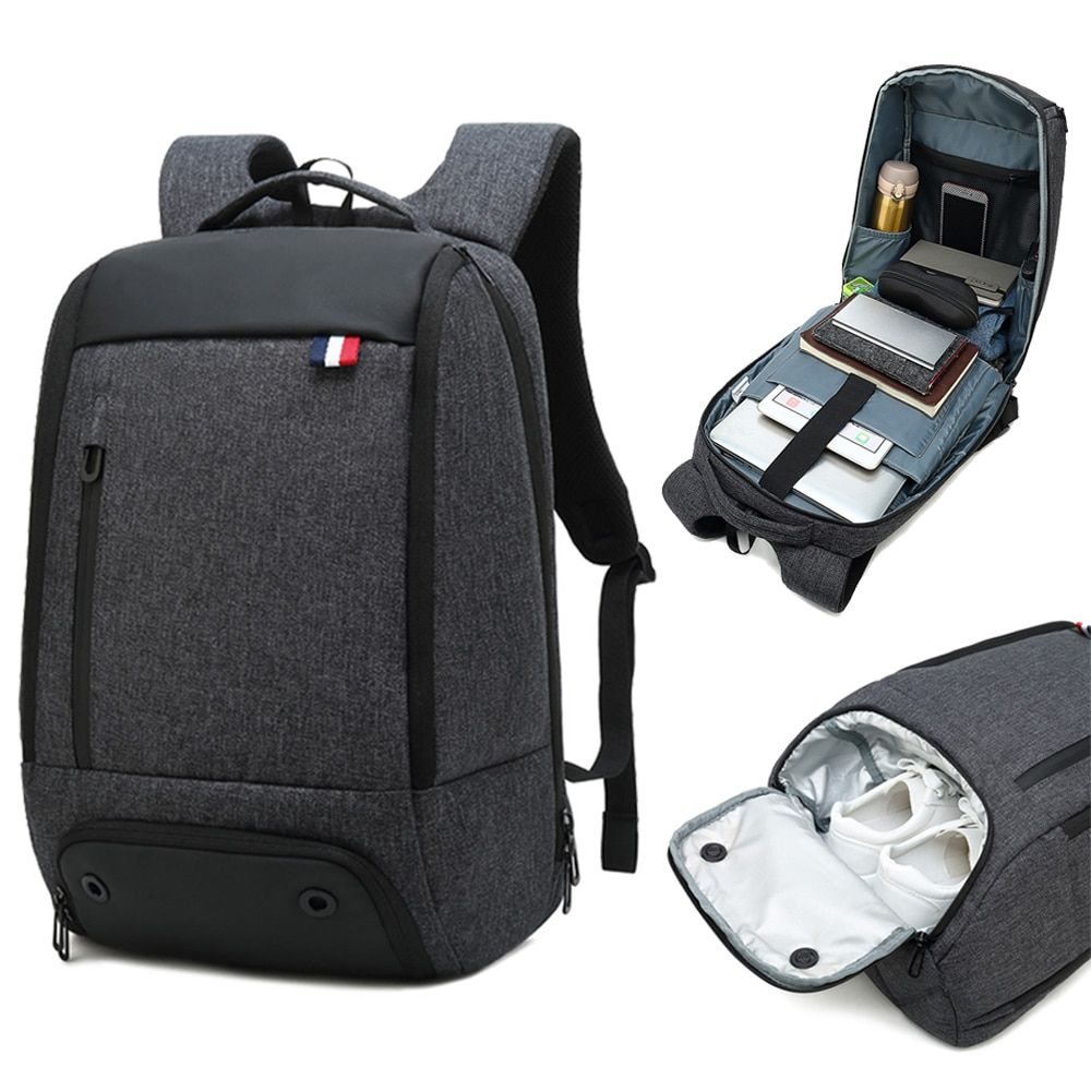 Mens business trolley bag large capacity waterproof backpack