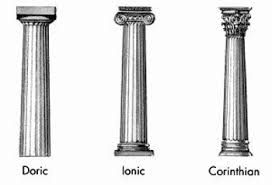 Roman Columns Doric Ionic And Corinthian Ancient Greek Architecture Doric Greek Columns