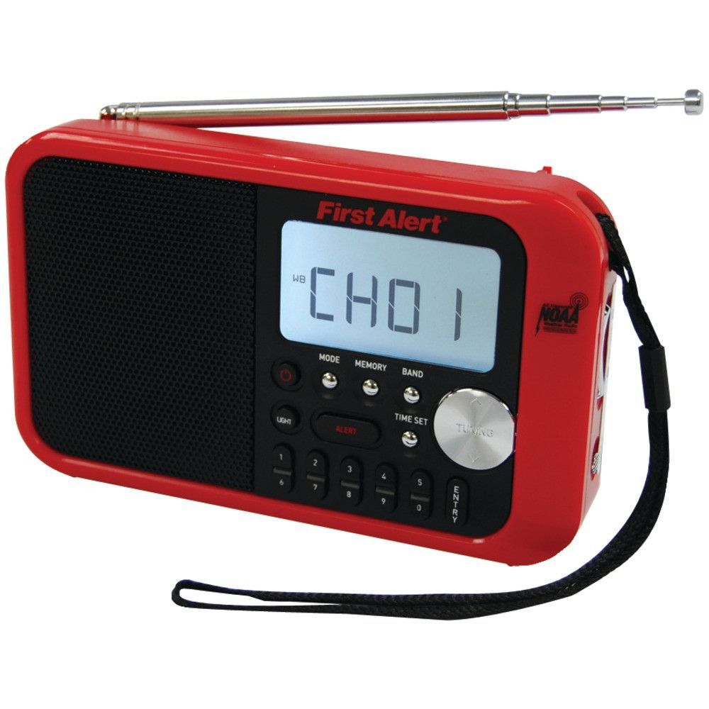First Alert Digital Tuning Am And Fm Weather Band Radio