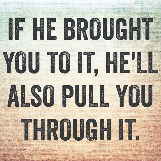 God's got your back. Always. #ProjectInspired #Christian