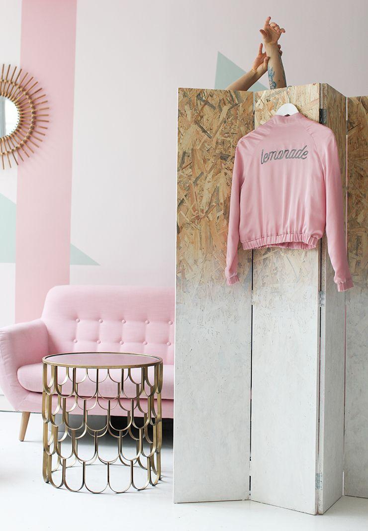 diy paravent diy folding room dividers diy furniture. Black Bedroom Furniture Sets. Home Design Ideas