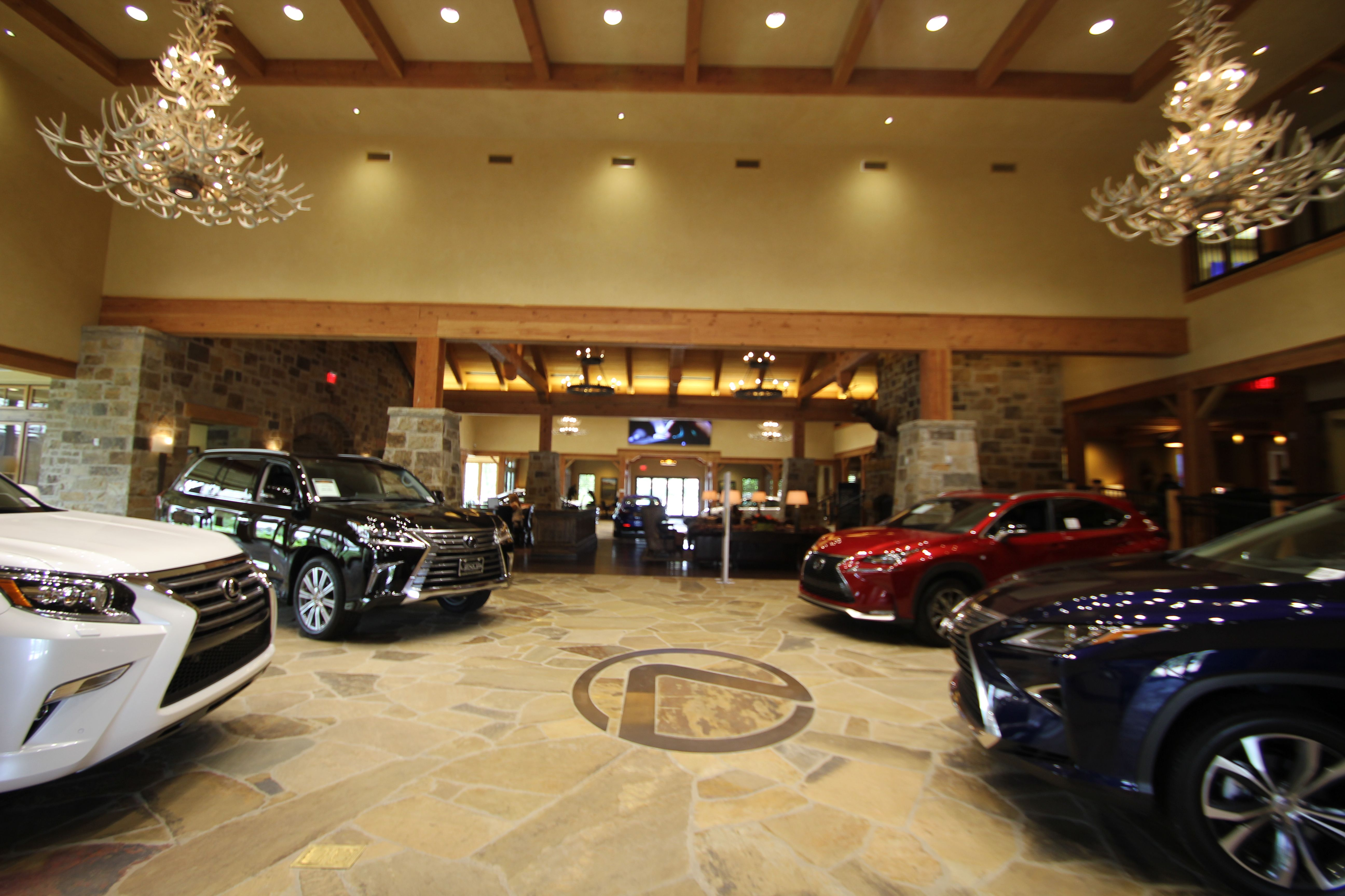 Our Lexus Showroom At North Park Lexus At Dominion In San Antonio